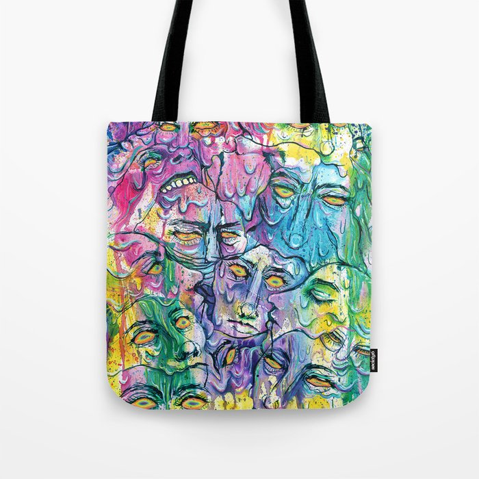 Melting My Face Off Tote Bag