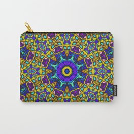 Persian kaleidoscopic Mosaic G522 Carry-All Pouch
