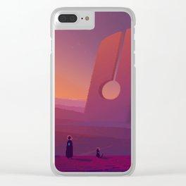 PHAZED PixelArt 7 Clear iPhone Case