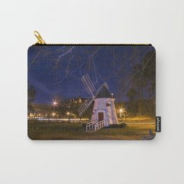 Yorktown Windmill at Night Carry-All Pouch