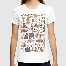 Woodland Animals T-shirt