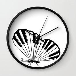 Musical Butterfly Wall Clock