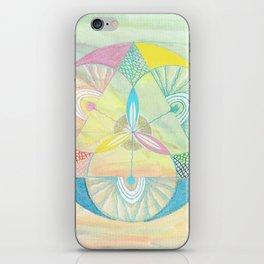 Vishuddha mandala iPhone Skin