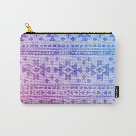 Aztec Pattern 04 Carry-All Pouch
