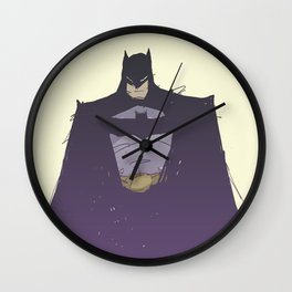 Caped Crusader Wall Clock