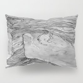 Tree of Life (Grey Scale) Pillow Sham