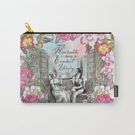 Excellent Library - Pride and Prejudice Carry-All Pouch