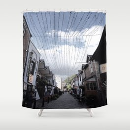 Streets of Glasgow Shower Curtain