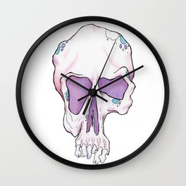 Skullz 01 Wall Clock