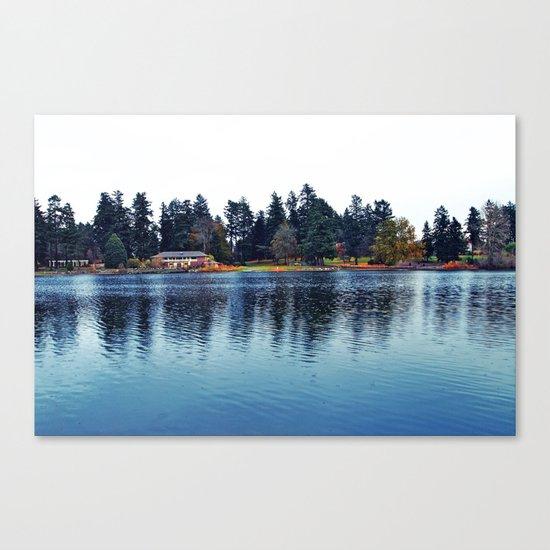 Scenic Wapato Lake Canvas Print