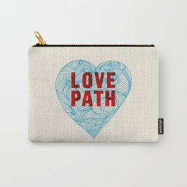 Love Path Carry-All Pouch