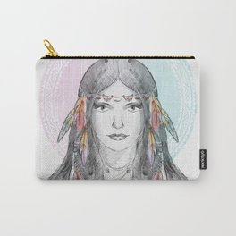watercolor godess Carry-All Pouch
