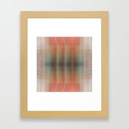 Abstract pattern pink and grey Framed Art Print