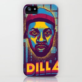 J Dilla ( Top 10 Producers series ) iPhone Case