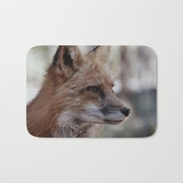 Fox Portrait Bath Mat