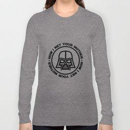 darth-mother Long Sleeve T-shirt