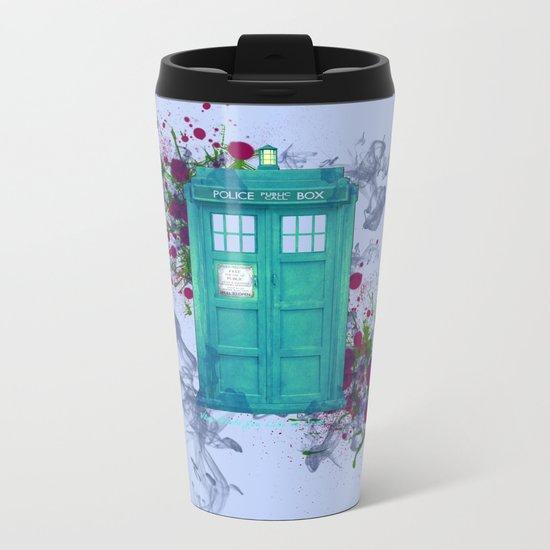 Doctor Who Metal Travel Mug