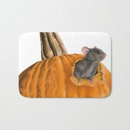 The Pumpkin Carver Bath Mat