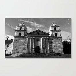 Mission Santa Barbara Canvas Print