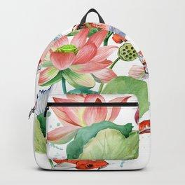 koi carp fish Backpack