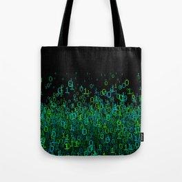 Binary Cloud Tote Bag