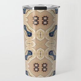 Desert Southwest Drum Circle Abstract Travel Mug
