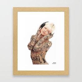 The joy of music Framed Art Print