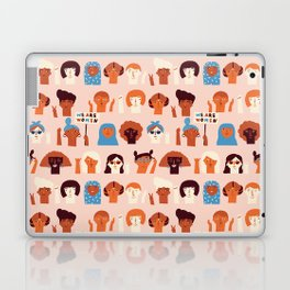 Women day Laptop & iPad Skin