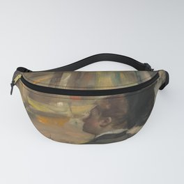 Woman Viewed from Behind (Visit to a Museum) Fanny Pack