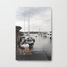 South Lake Union Metal Print