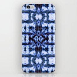 Blue Oxford Shibori iPhone Skin