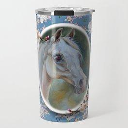 Spring Horse Travel Mug