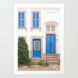 Doorways - Cunda Island III Art Print