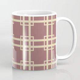 Plum Spice Moods Lattice Coffee Mug