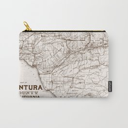 Ventura County Map Carry-All Pouch