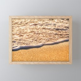 Atlantic Ocean Waves 4206 Framed Mini Art Print