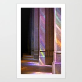 Cathedral Light Art Print