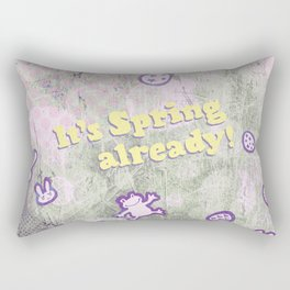 It's spring already! Rectangular Pillow