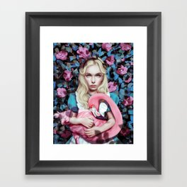 """Alice in Wonderland"" by Giulio Rossi Framed Art Print"