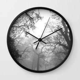 Trees around me Wall Clock
