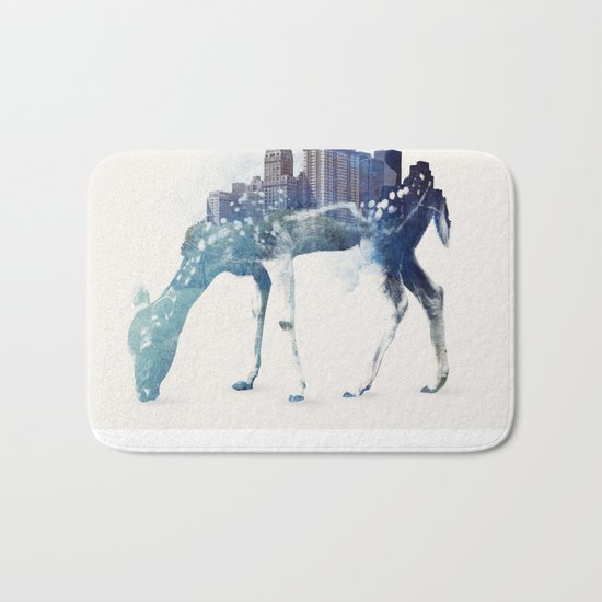 City Deer Bath Mat