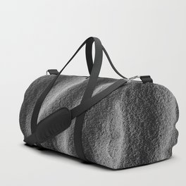 Sand_Ripples - Black and White Duffle Bag
