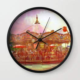 Merry Go Round Wall Clock