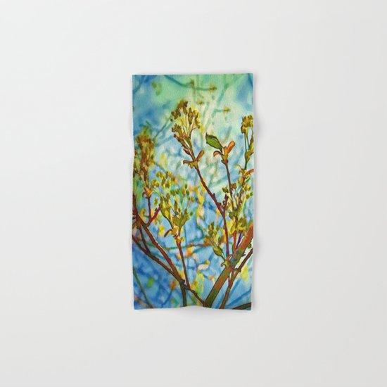 Budding Branches Hand & Bath Towel