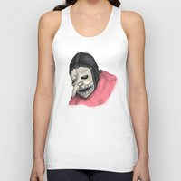 number Tank Tops featuring Number Three by Ludwig Van Bacon