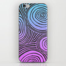 swirled  iPhone & iPod Skin