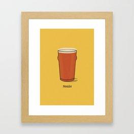 Nonic  Framed Art Print