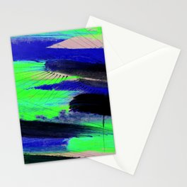 Abstraction 2B by Kathy Morton Stanion Stationery Cards