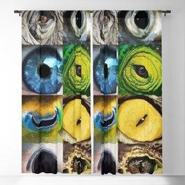 Animal's Eyes Blackout Curtain