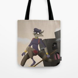 Sly in Action Tote Bag
